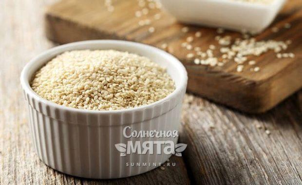 Семена кунжута молочно-масляный эликсир бессмертия