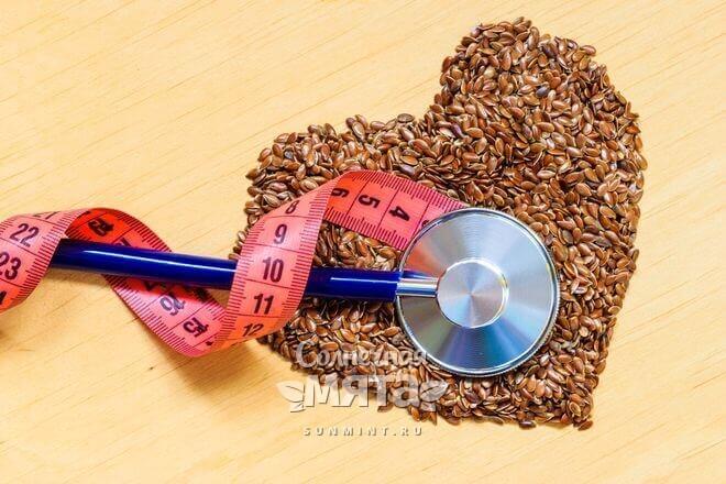 Семена льна полезны для здоровье