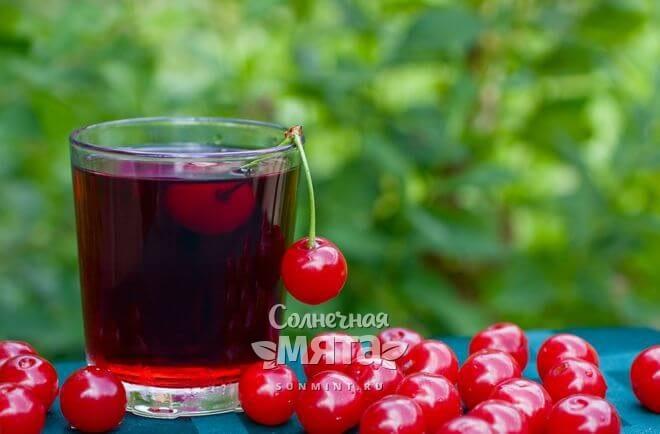 Сок вишни может стать эликсиром молодости