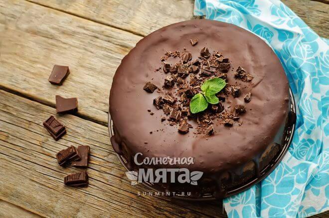 Торт с какао великолепное лакомство