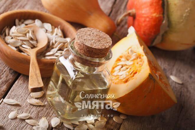 Тыквенное масло используется в косметологии и кулинарии