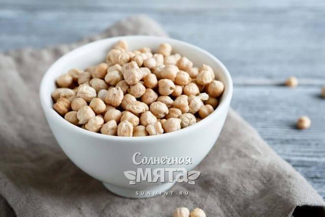 У нута выраженный ореховый привкус