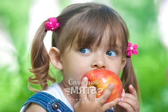 У яблок очень разные вкусы