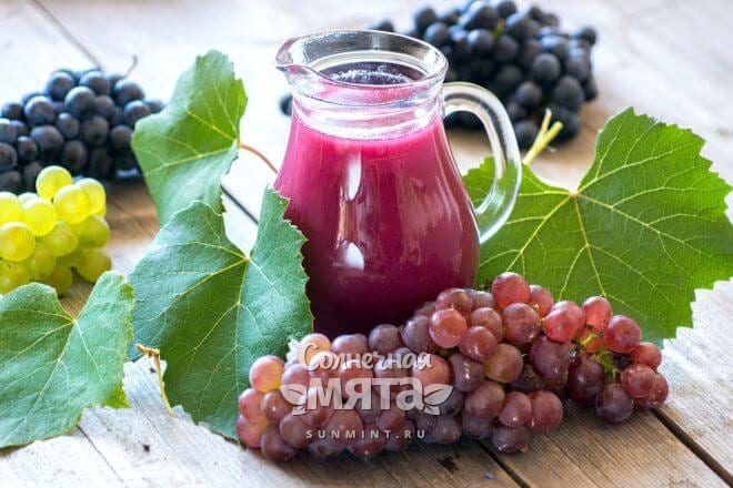 Виноградные смузи полны витаминов