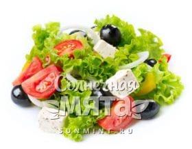 Греческий салат, фото