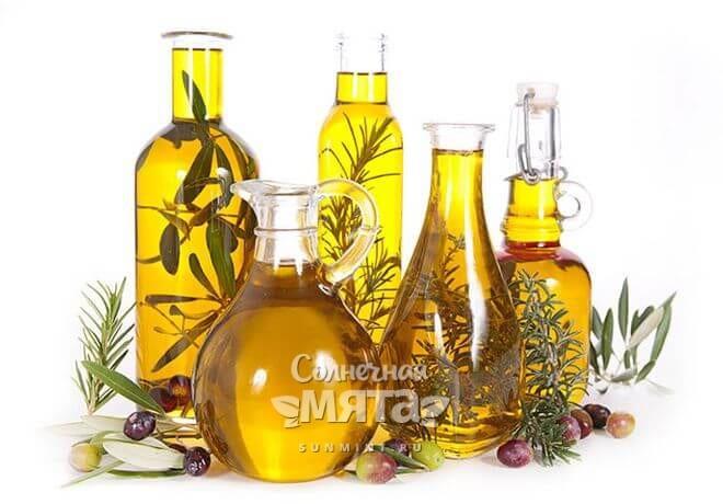 Растительные масла, фото