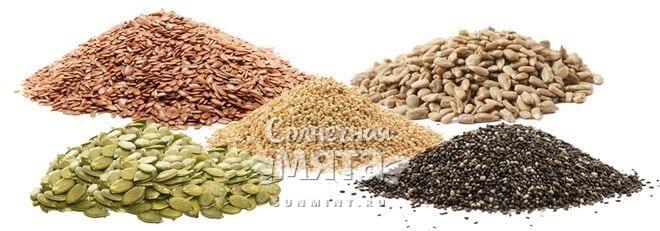 Семена, фото