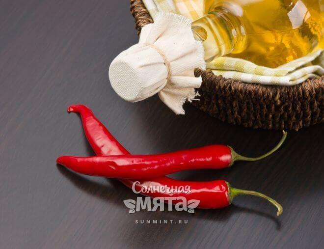 Из красного перца делают масло