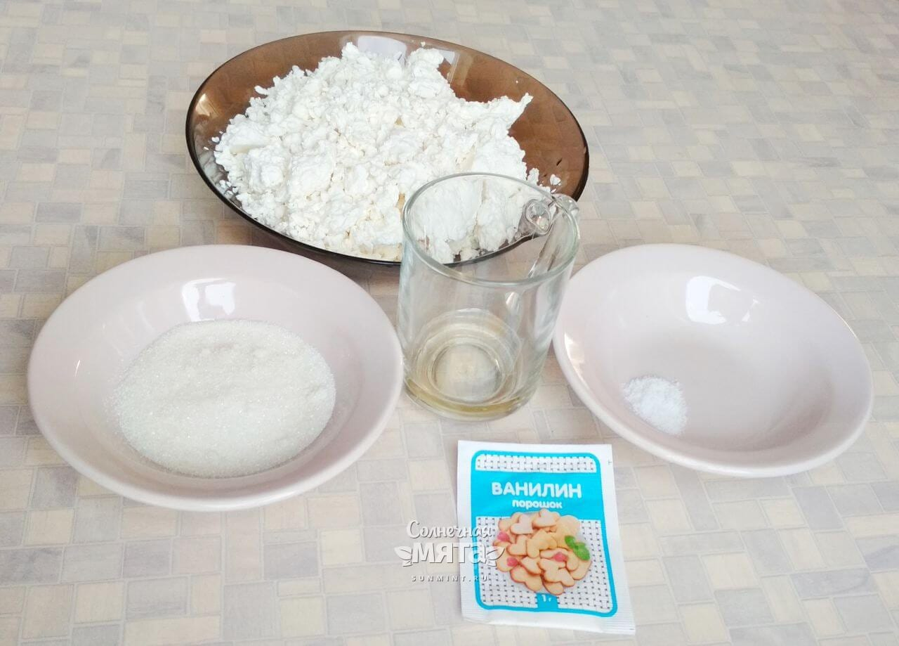 Сырники без яиц - Шаг 1