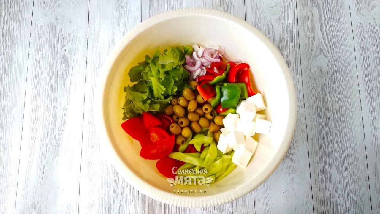 Греческий салат - Шаг 9-1