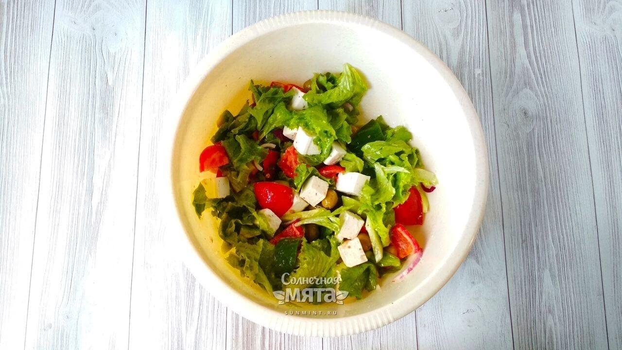 Греческий салат - Шаг 9-2