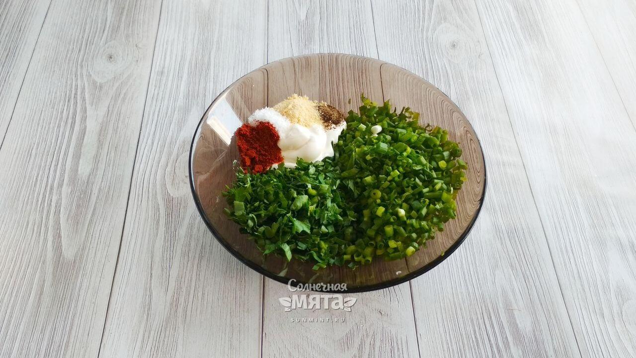 Кукуруза с чесночным соусом - Шаг 6-1
