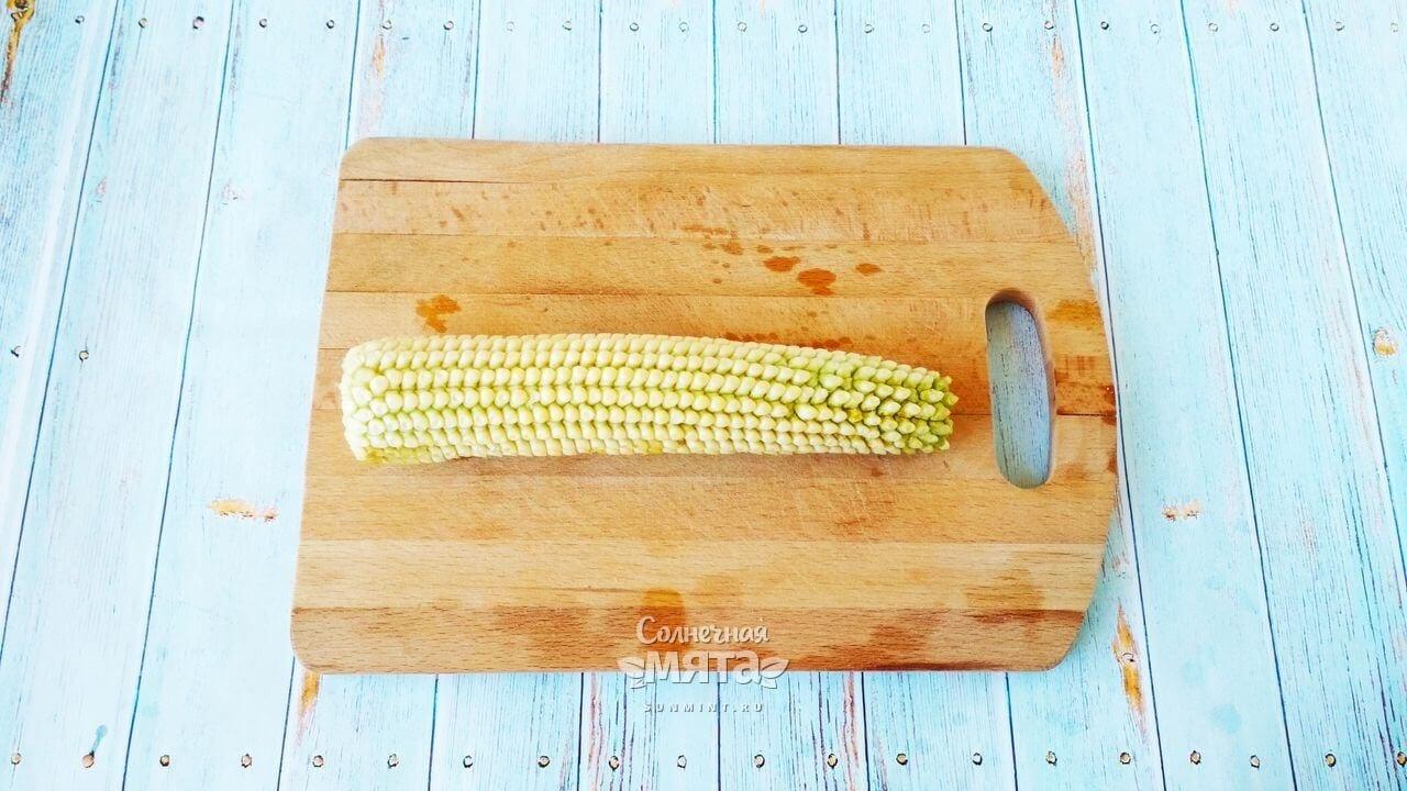 Кукурузные оладьи - Шаг 2-1