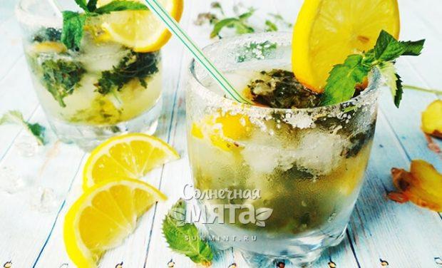 Мохито безалкогольный - пузырящийся мятный напиток