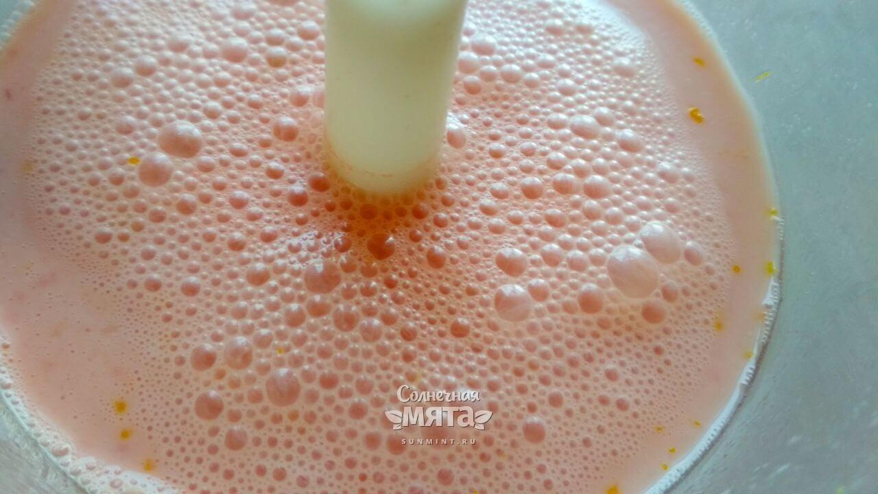 Смузи из арбуза и йогурта - Шаг 7-2