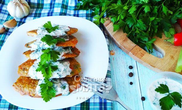 Вегетарианские хрустящие оладушки из кукурузы без яиц