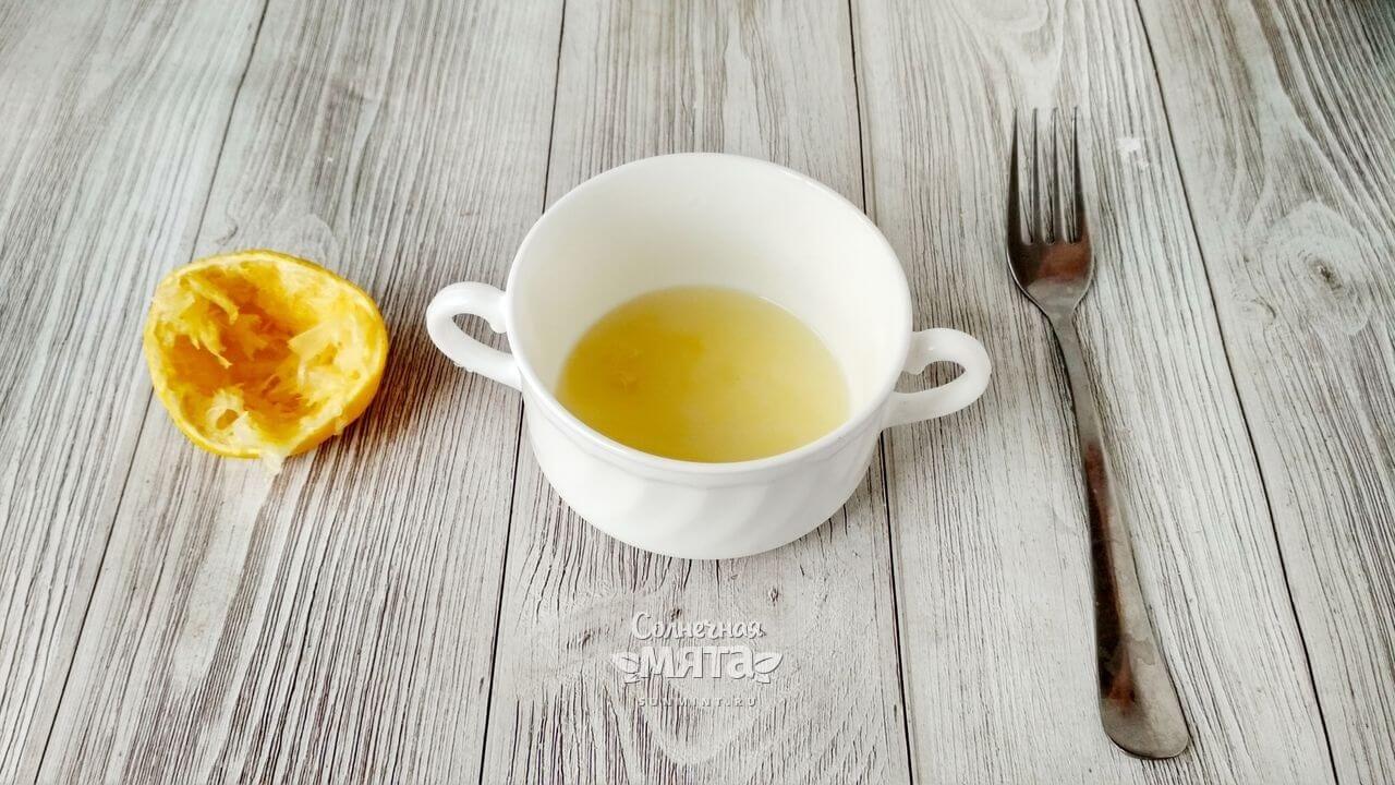 Салат с жареным сыром - Шаг 2-1