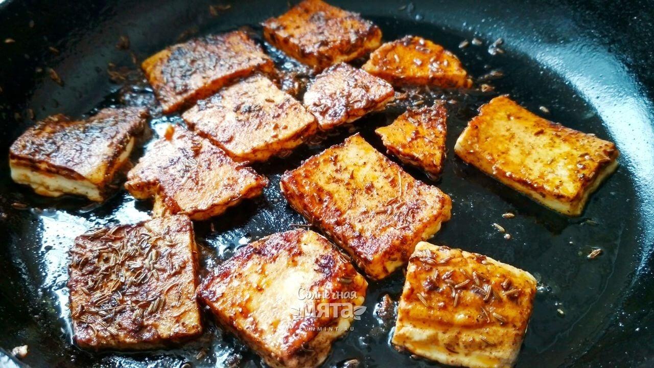 Салат с жареным сыром - Шаг 7-3