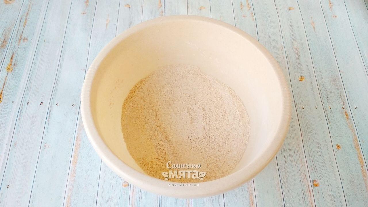Содовый хлеб с семечками - Шаг 4-2