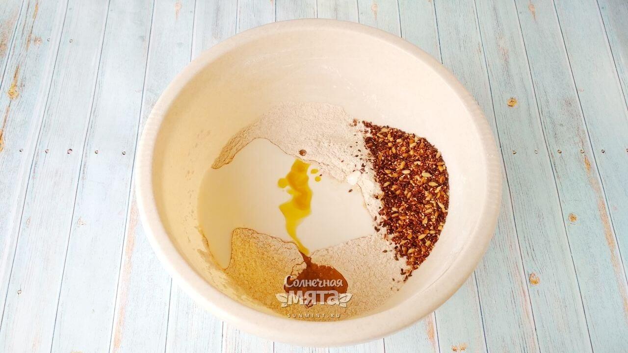 Содовый хлеб с семечками - Шаг 5-1