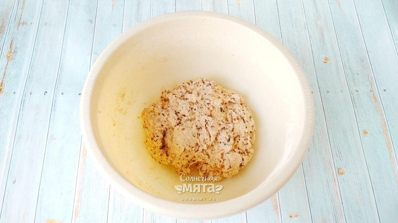 Содовый хлеб с семечками - Шаг 5-2