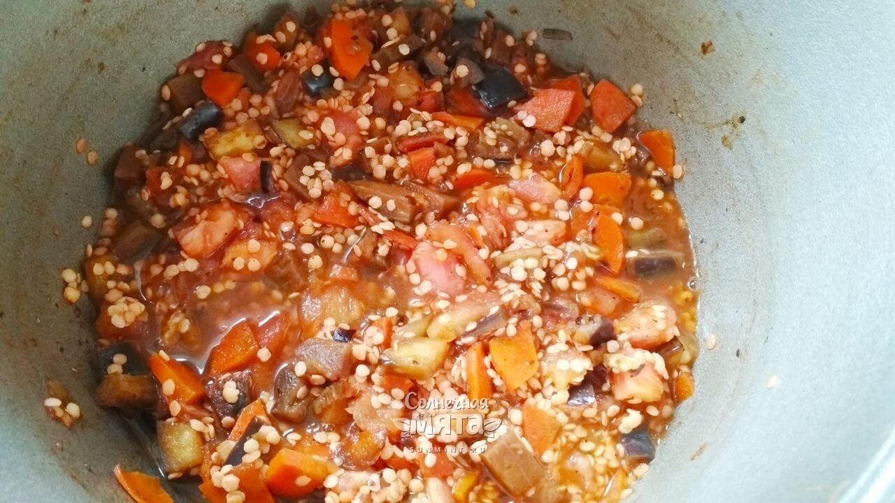 Суп из красной чечевицы - Шаг 12-1
