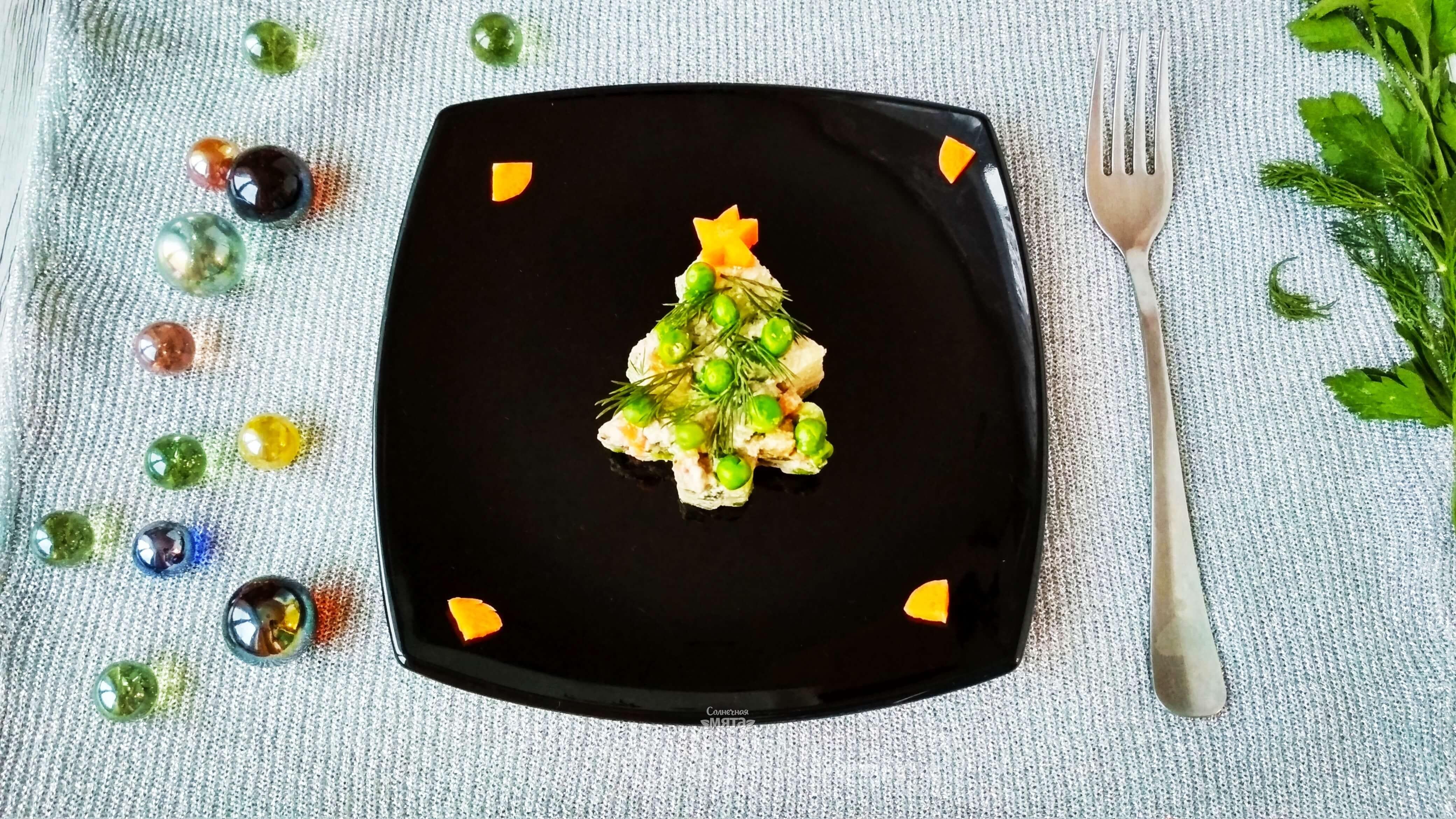 Оливье сыроедческое - Шаг 8