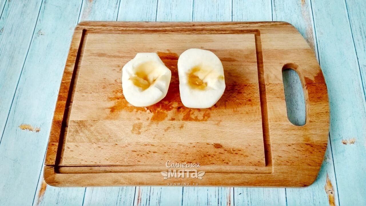 Овсянка в банке с яблоком - Шаг 3-1