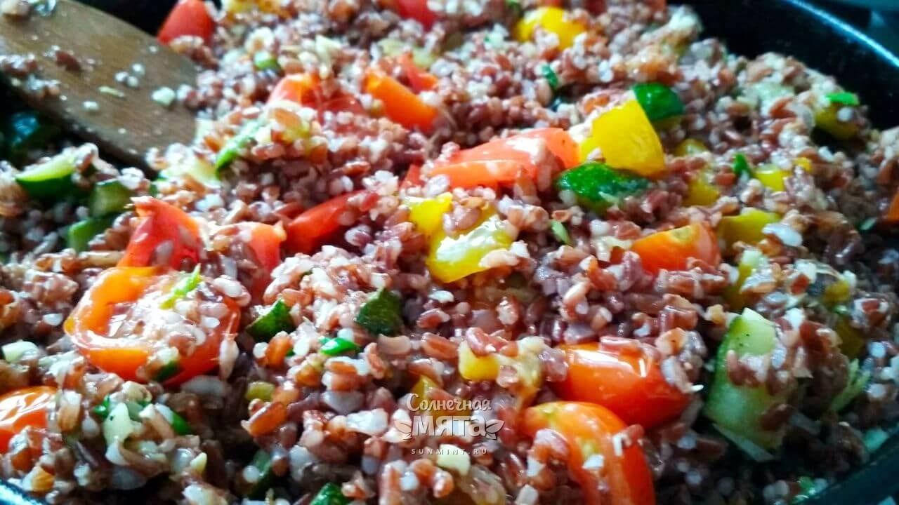 Паэлья овощная с сыром - Шаг 15-2