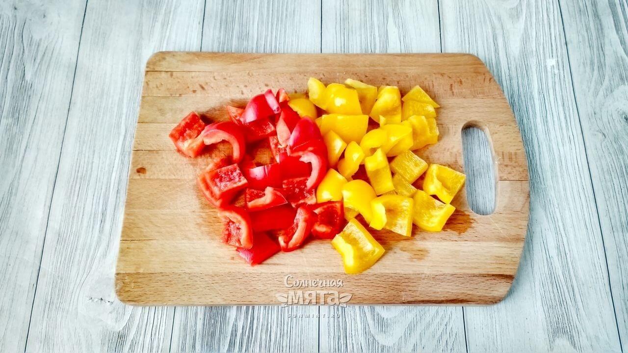 Паэлья овощная с сыром - Шаг 4
