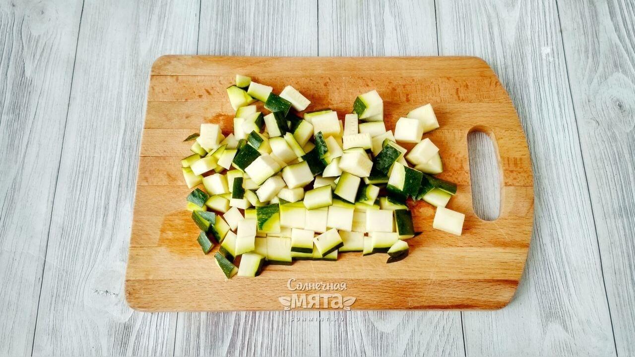 Паэлья овощная с сыром - Шаг 5