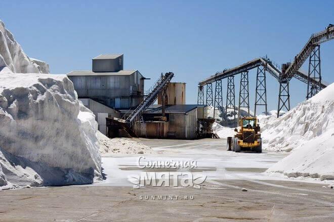 Поваренная соль изначально природный минерал