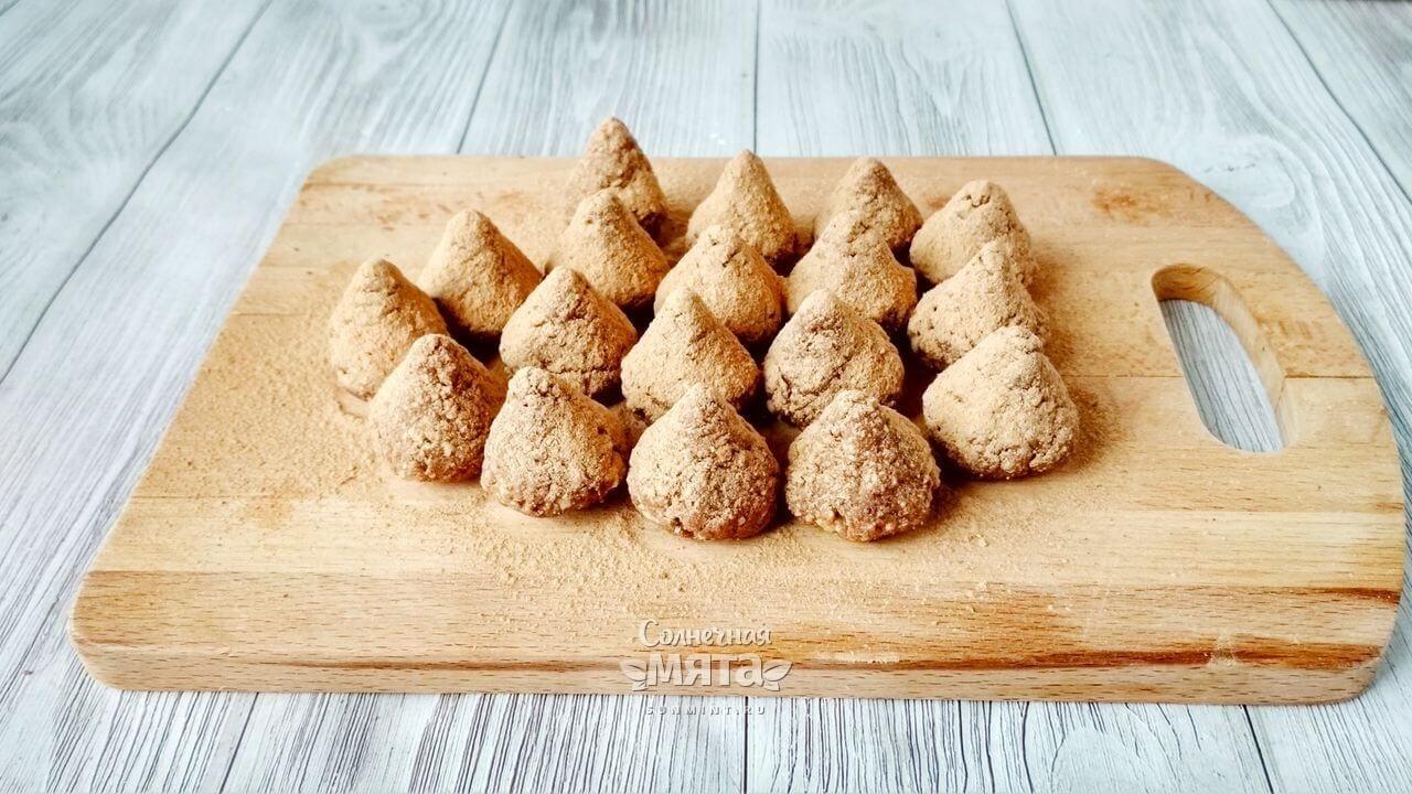 Трюфели с орехами - Шаг 6-2