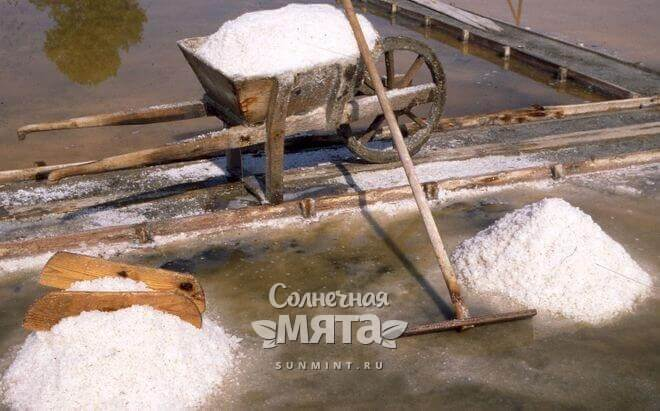 У соли богатая история