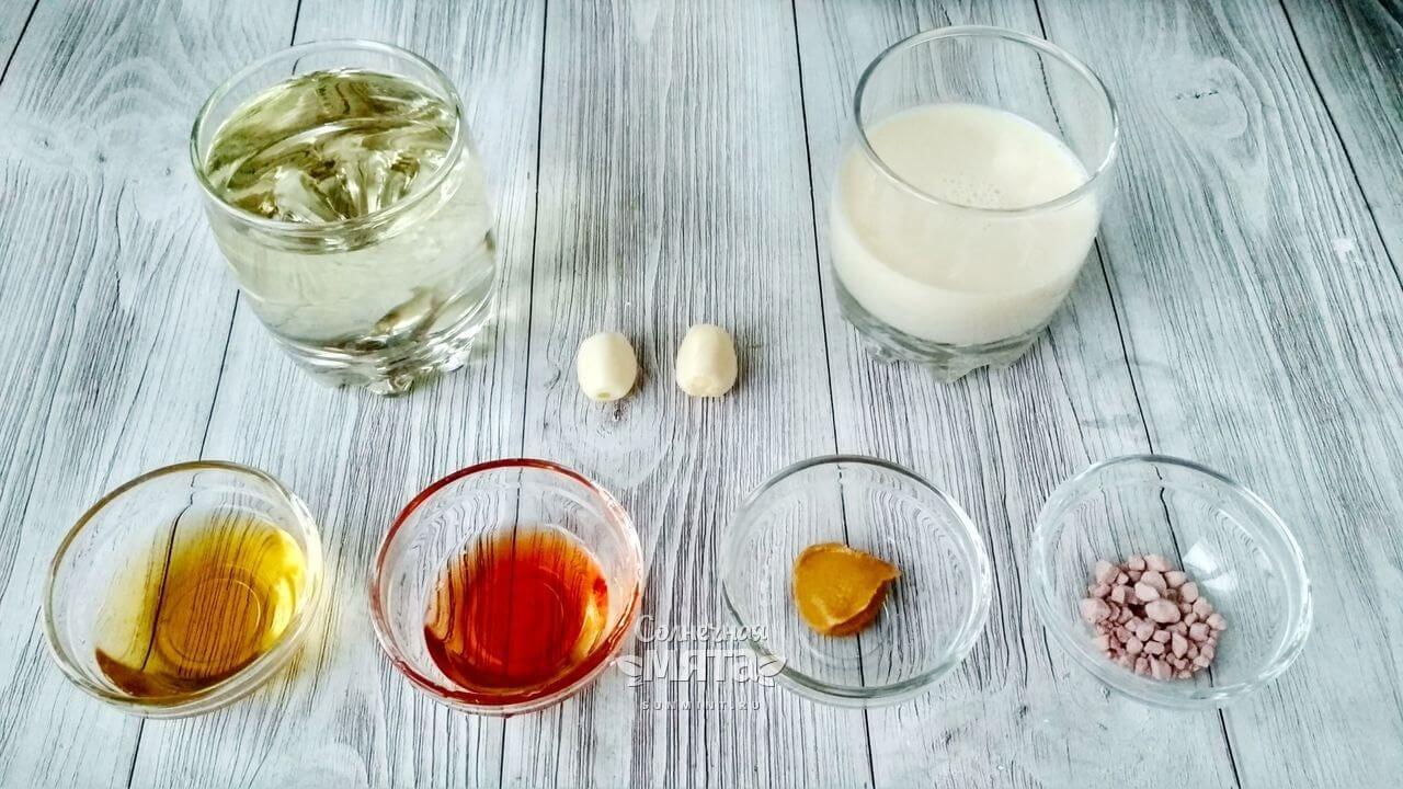 Веганский майонез на соевом молоке - Шаг 1