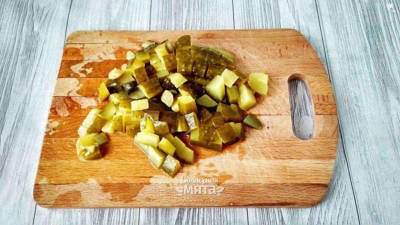 Вегетарианский оливье - Шаг 4