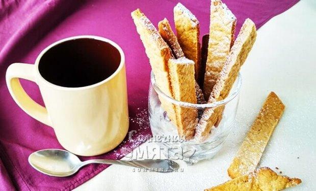 Быстрое шведское печенье на столе